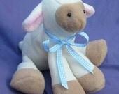 Lamb Plush Toy Pattern PDF INSTANT DOWNLOAD