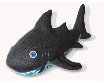 Shark Plush Toy Pattern PDF INSTANT DOWNLOAD