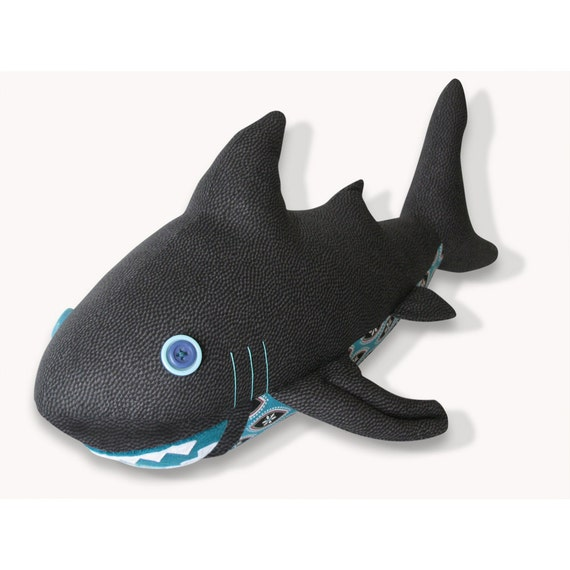 Shark Plush Toy Pattern PDF INSTANT DOWNLOAD