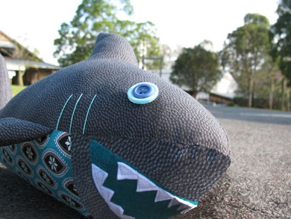 Shark Plush Toy Pattern Pdf Instant Download From