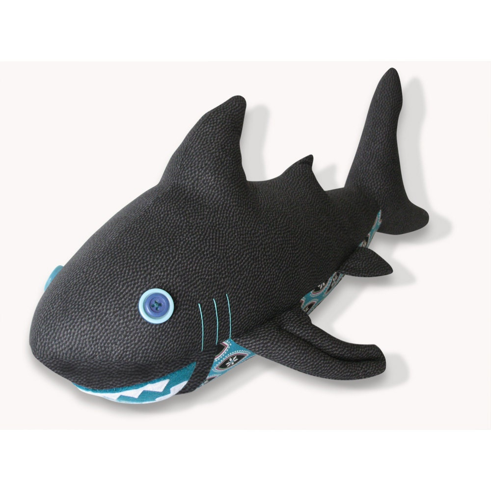Shark Plush Toys : Shark plush toy pattern pdf instant download