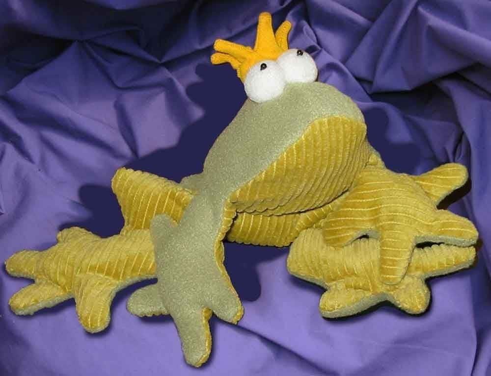 Soft Toy Patterns : Prince charming soft toy frog pattern pdf