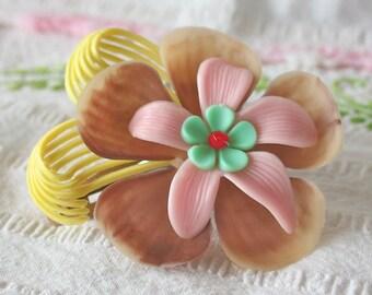 Vintage Flower Hair Clip - Maiya