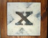 Letter painting- Roman Clarendon--x