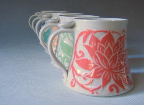 Lotus... Favorite Mug... Made to Order