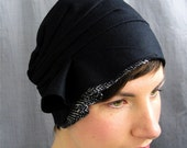 black wool cloche - on sale