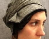 wool cloche - honeycomb