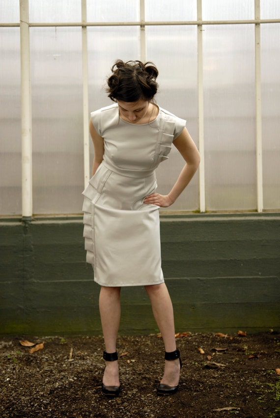Ruffle Dress - reserved listing for Kelly
