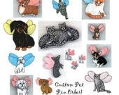 Special Order Request - Pet Portrait Pin for grammacookieto6