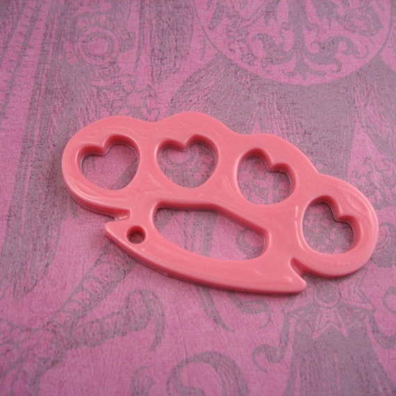 Brass Knuckles Resin MOLD hearts