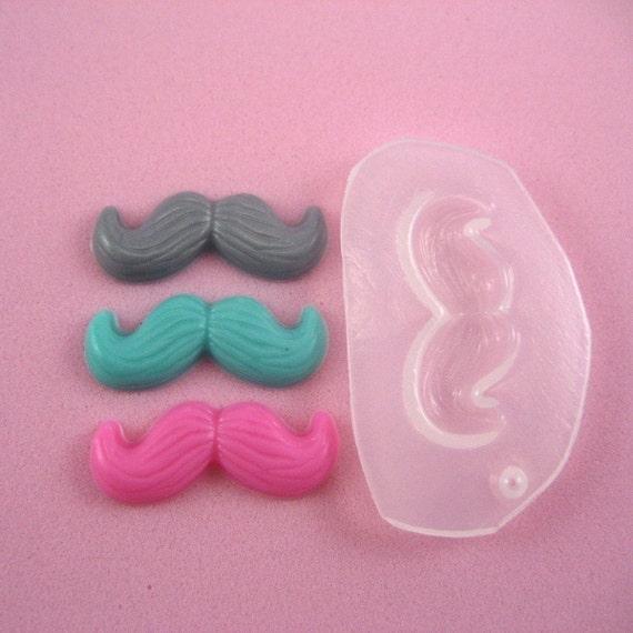 Mustache mold resin MOLD