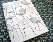 notebook with chairs