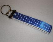 Gone Dotty Blue Key Fob Sale