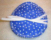 Washable Nursing Breastfeeding Pads in Dots 2 Sets
