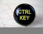 Control key adjustable brass ring
