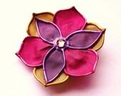 Pretty Posie flower hair clip