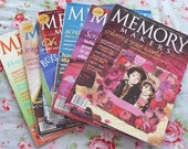 22 Back Issue Scrapbook Magazines and Books Memory Makers and Creating Keepsakes