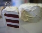 Red Velvet Cake Stitch Marker