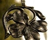 Irish Shamrock Necklace - Silver