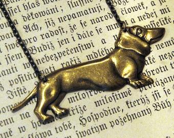 Wiener Dog Necklace