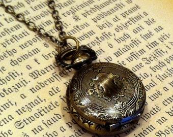 Brass Pocket Watch Necklace number 6