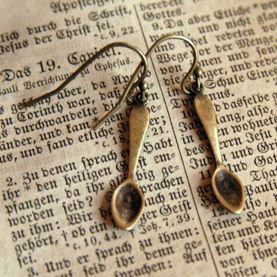 Little Teaspoon Earrings