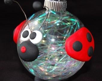 Ladybug Ornapet Ornament