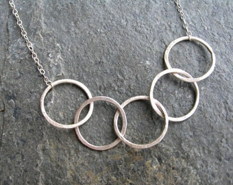 Linked - Sterling Silver Necklace