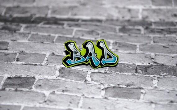 Graffiti BAD Ring by beebles