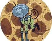 Skull-Monkey Acrylic Painting