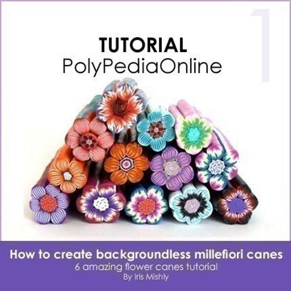 Clay Flowers Tutorials: Polymer Clay Tutorial Millefiori Canes Millefiore Tutorial