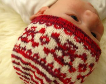 Jolly Roger Hat for Babies - Knitting Pattern