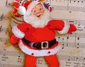 Santa paper doll instant download