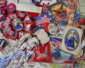 Fourth of july crafting kit