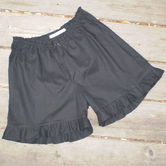 Black, White or Ivory Mini Bloomers Womens 4-16
