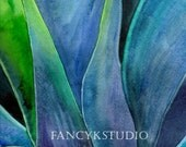 478 ABSTRACT YUCCA 8X10 Limited Edition Art Print by Sharmen