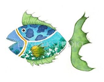 753 FISH 8x10 Limited Edition Fine Art print