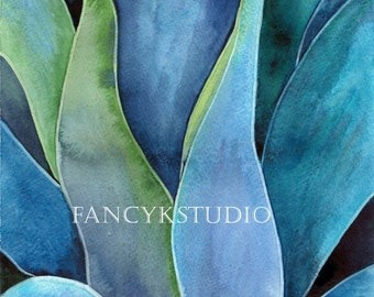 560 ABSTRACT BOTANICAL Limited Edition Print 8x10
