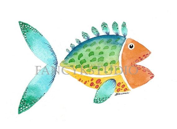 755 FISH 8x10 Limited Edition Art Print