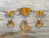 Amber Circuit and Topaz crystal set