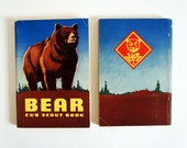 RESERVED for Maria // 1954 Bear Cub Scout Manual
