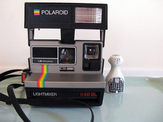 polaroid lightmixer 630 sl camera - vintage
