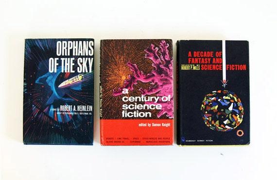 Vintage 60s Sci Fi Book Bundle