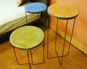 Fun Occasional Tables of Concrete and Steel