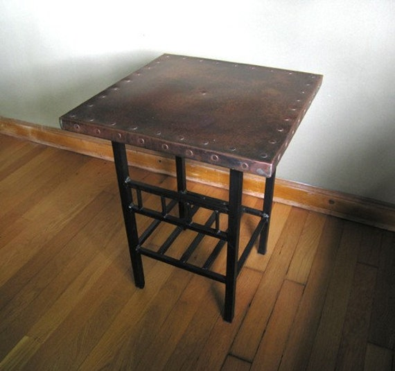 Copper Nail Table