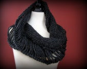 Deconstructed Cowl--Charcoal