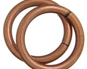 20mm Jump Rings - Copper Rings - Antique Copper - Thick Rings - Nickel Free - Lead Free - Copper Links - 10 Pieces - 1265