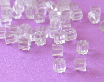 Small Rubber Stoppers for Earrings - 100 Pieces