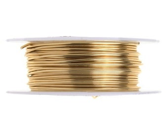 20 Gauge Lead and Nickel Free Artistic Wire - Natural Copper - 15 yards - 1006