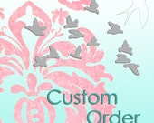 RESERVED for natalie . . . balance for custom blog designs